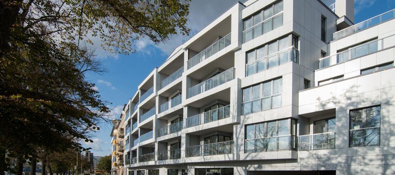 Nowy apartamentowiec nad Odrą