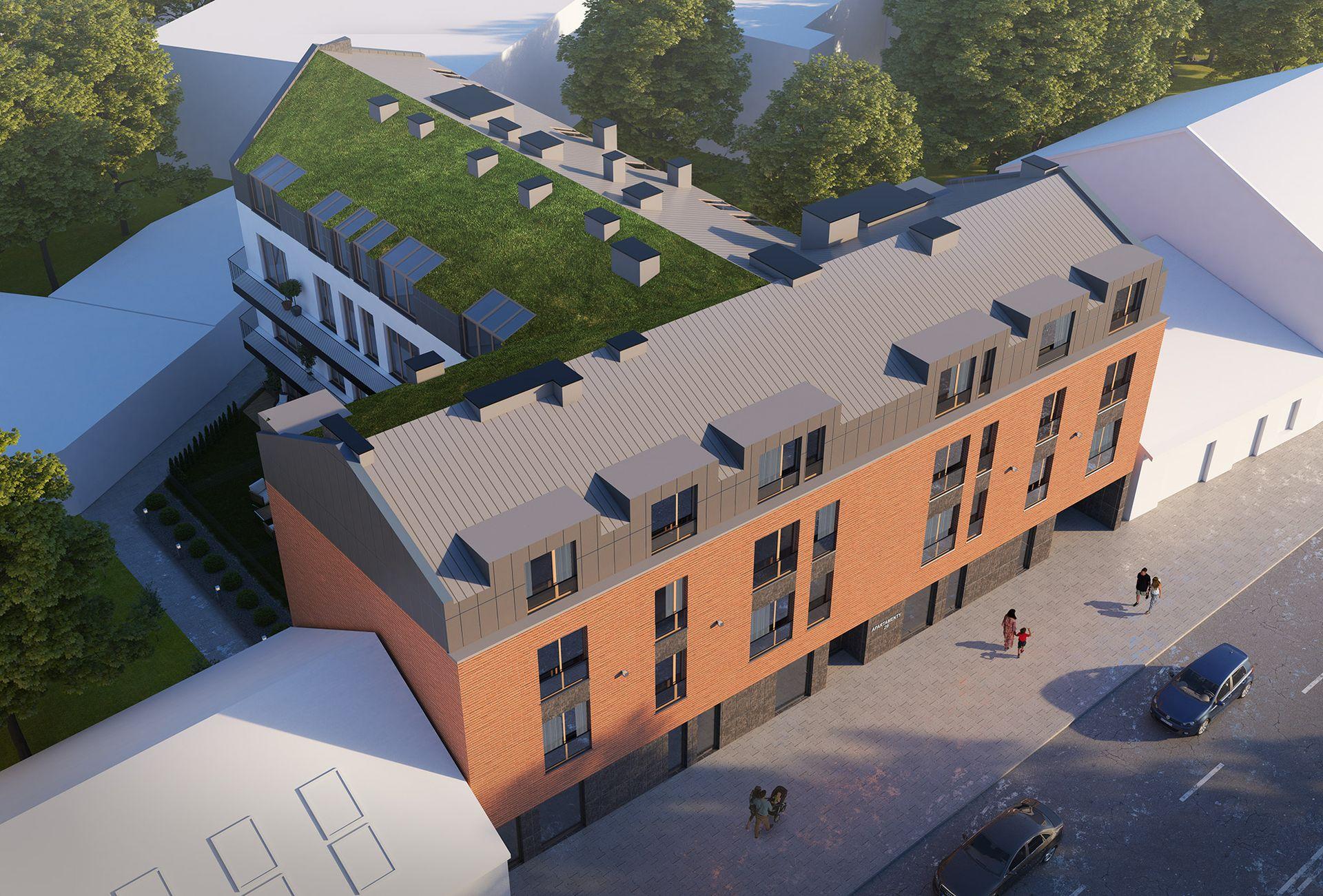 Kraków: Apartamenty 29 – Invest House startuje z projektem mieszkaniowo-usługowym na Prądniku Czerwonym