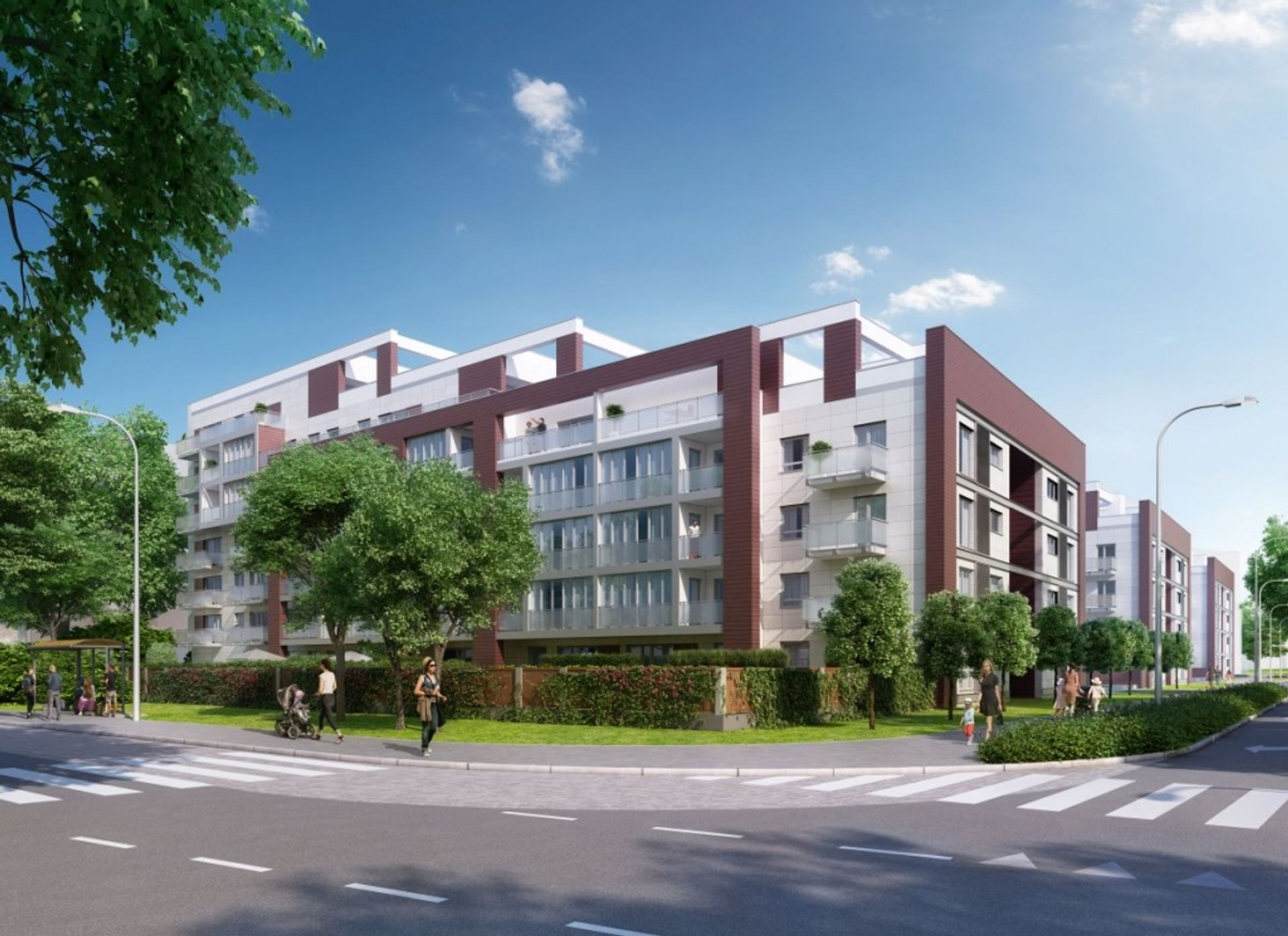 Wrocław: I2 Development rusza z inwestycją na Grabiszynie. Tak będą wyglądać Ogrody Grabiszyńskie