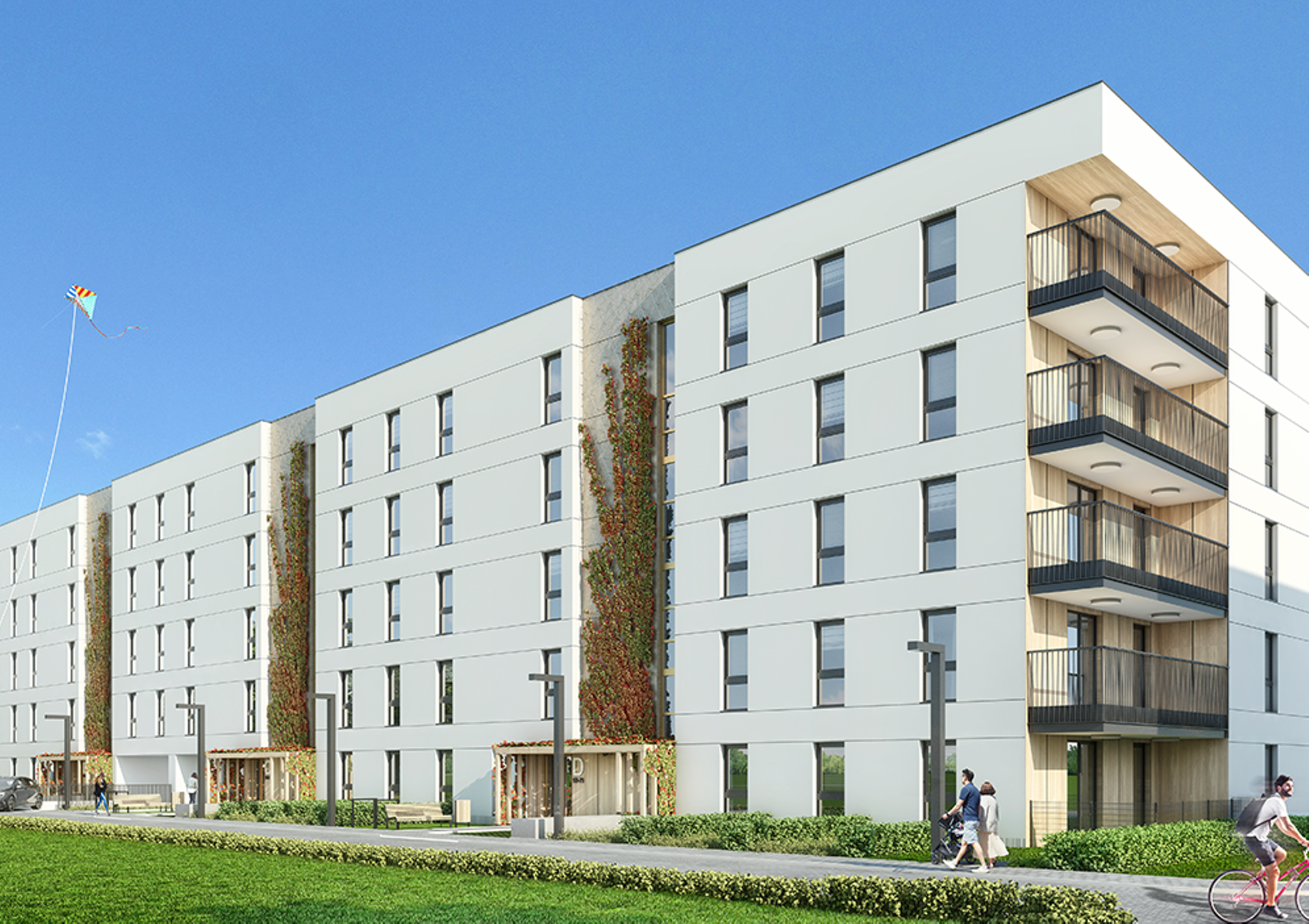 Warszawa: Lumea – Bouygues Immobilier stawia na Bemowo. Zapowiada nowe osiedle [WIZUALIZACJA]