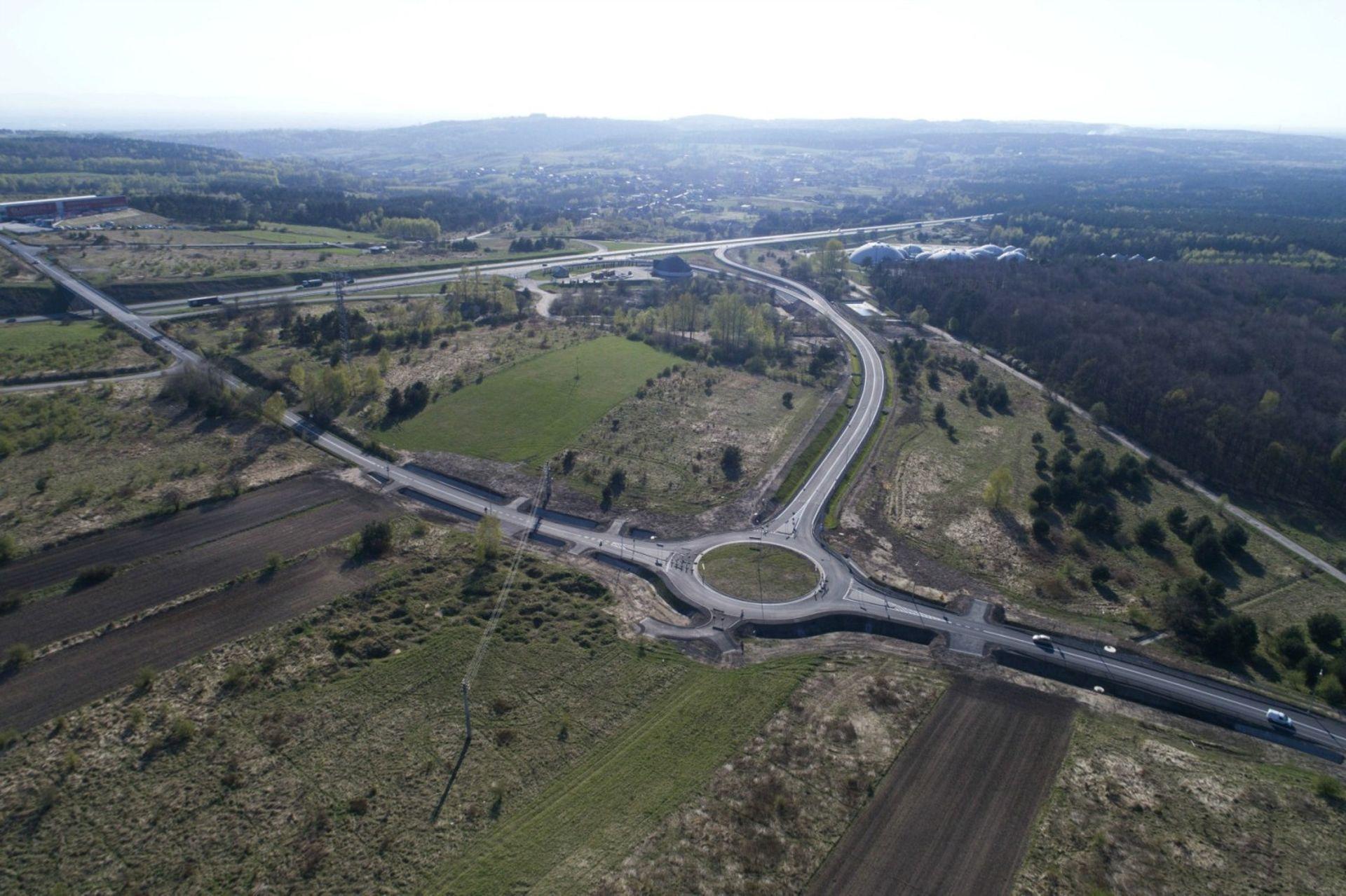 [małopolskie] Koniec remontu nawierzchni węzła Balin na A4 Katowice-Kraków