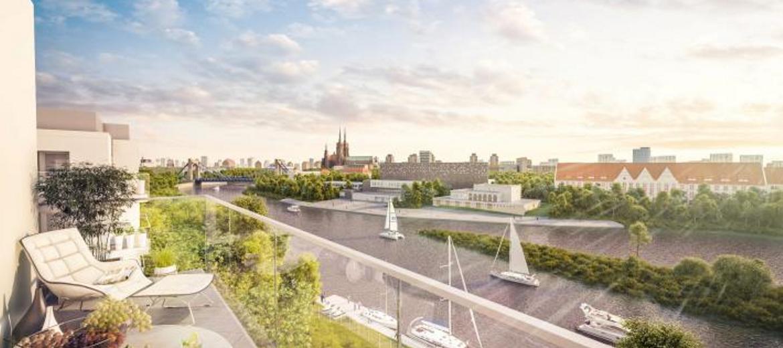 Osiedle Marina Miasto we Wrocławiu (wizualizacja: materiały inwestora)