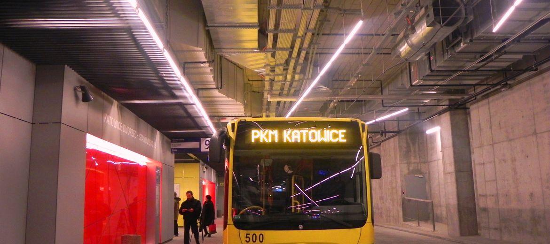 Dworzec autobusowy w Katowicach