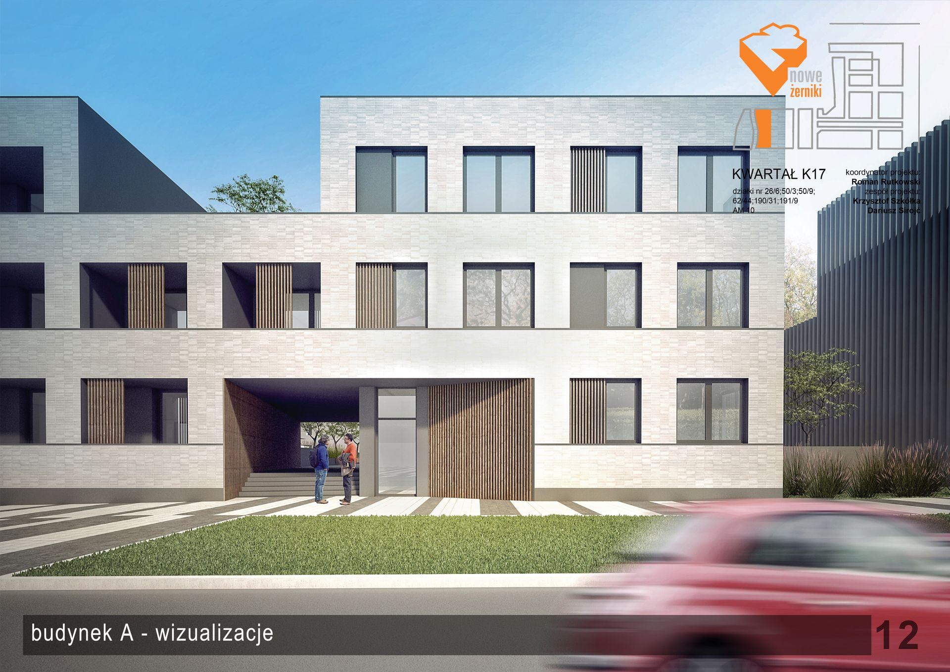 Wrocław: Rodis po raz drugi na Nowych Żernikach. Zbuduje prawie 100 mieszkań [WIZUALIZACJA]
