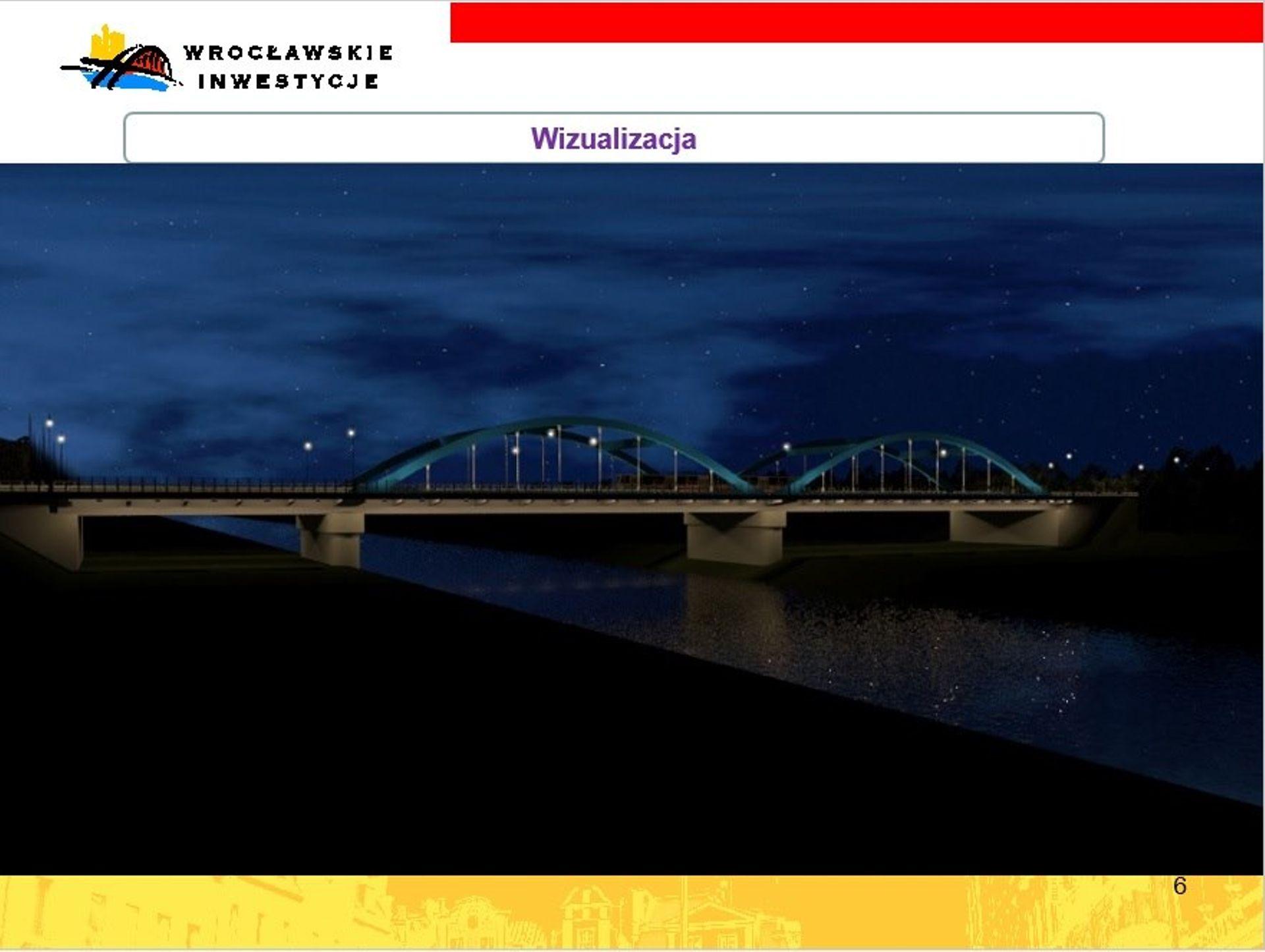 Wrocław: Opóźnienie w budowie mostów Chrobrego. Jest nowy przetarg [WIZUALIZACJA]