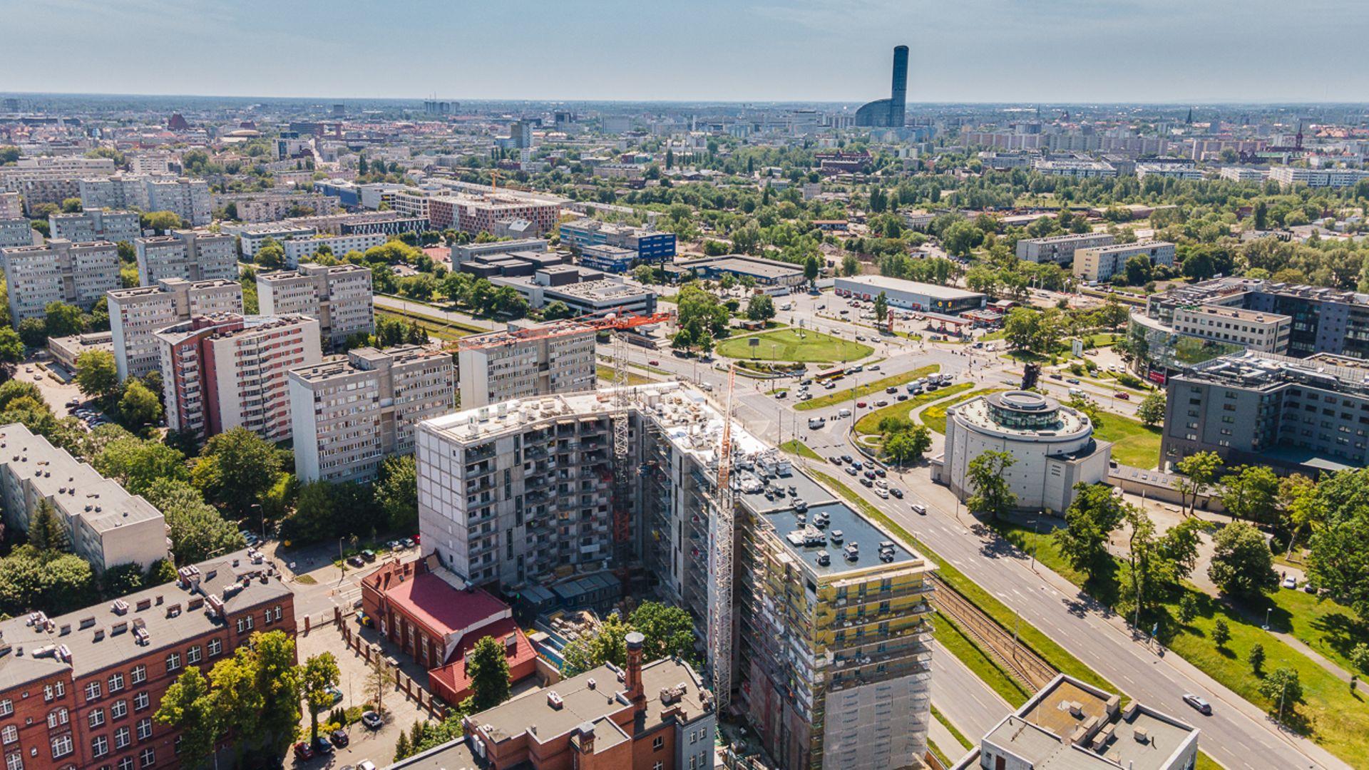 Wrocław: Nowe mieszkania inwestycyjne blisko centrum. Vantage Development finiszuje z Legnicką 33