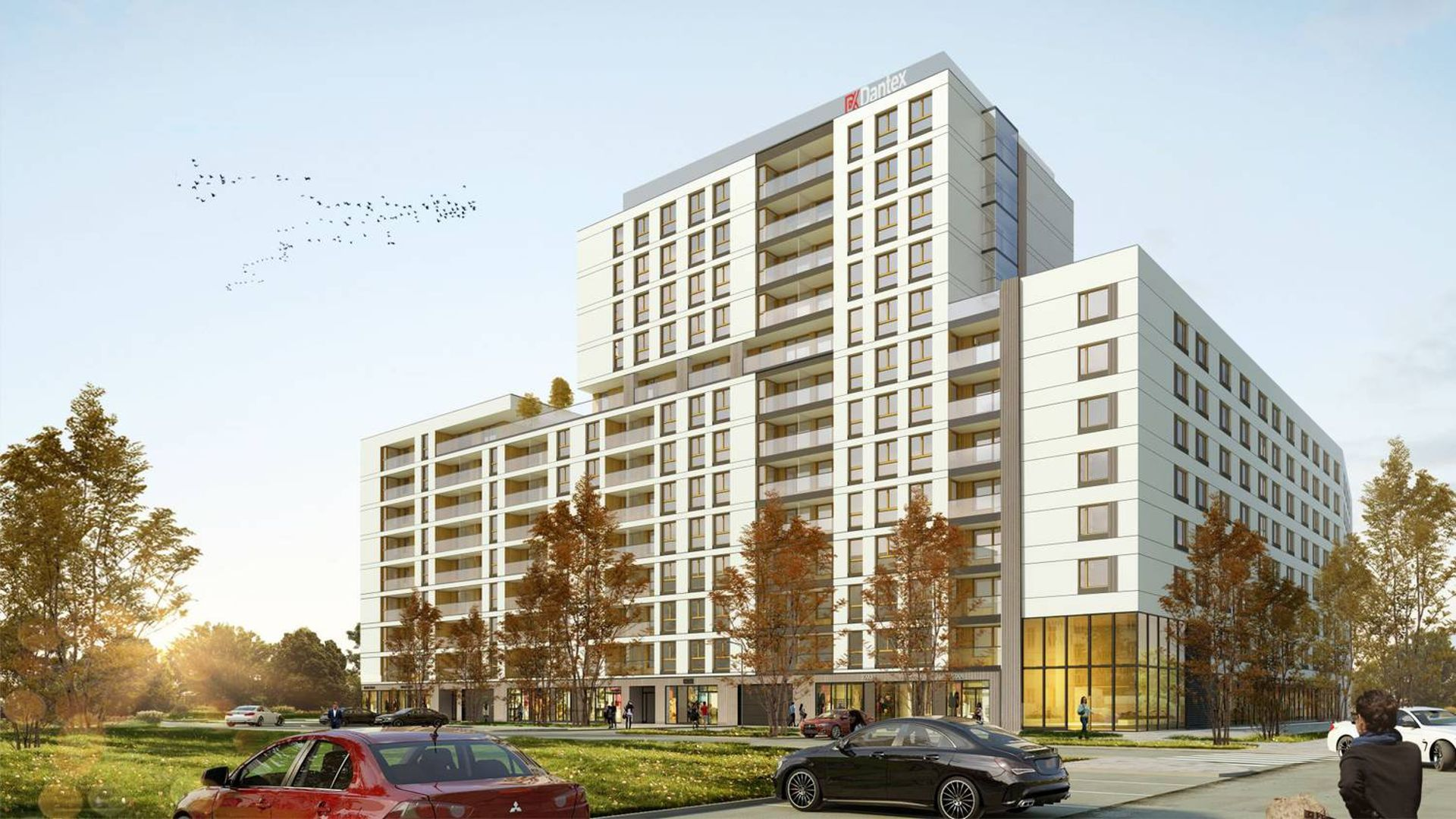 Warszawa: Wola Nowa – Dantex buduje prawie 400 mieszkań na Odolanach