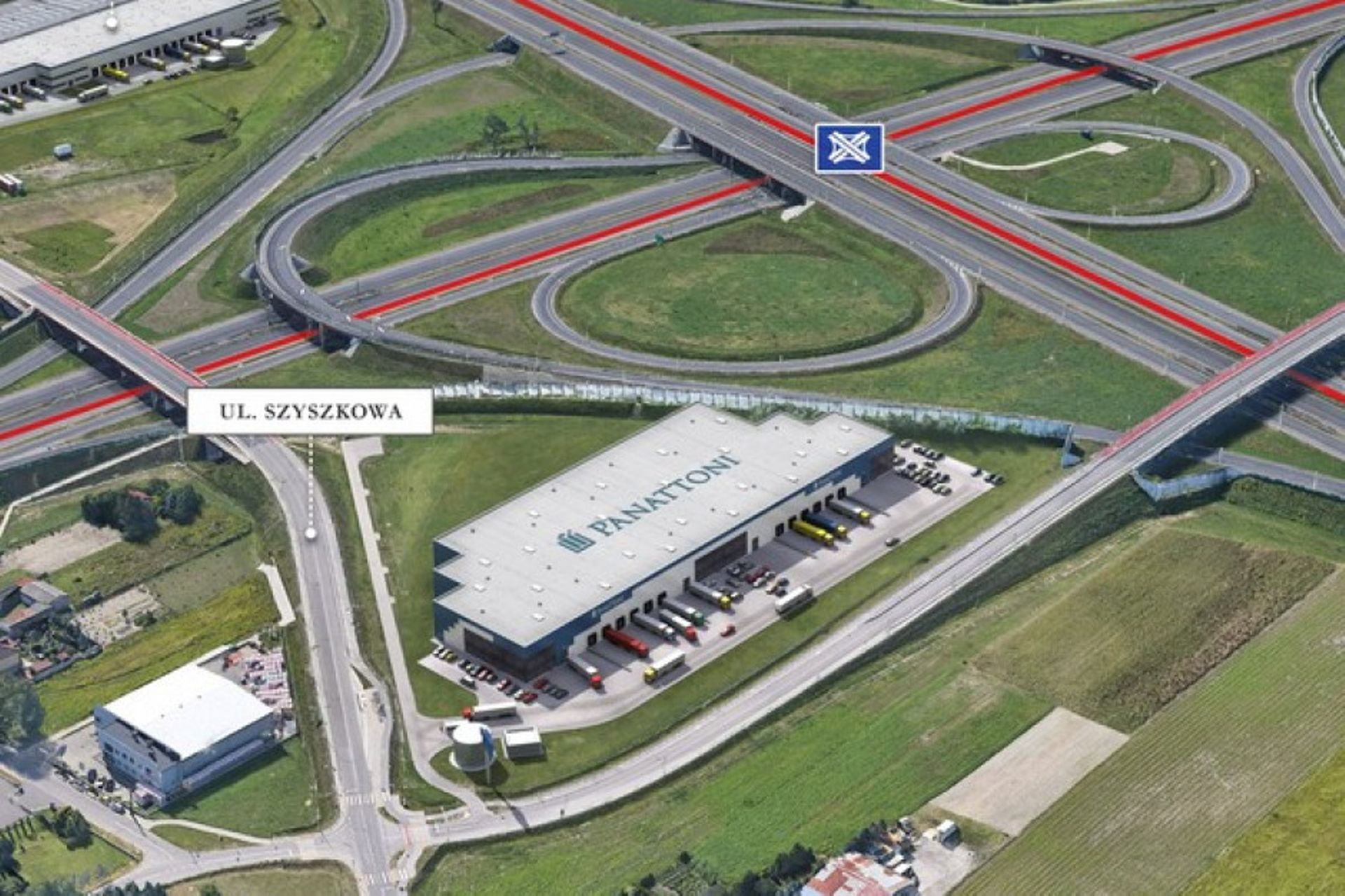 Warszawa: Panattoni rusza z budową II etapu City Logistics Warsaw Airport
