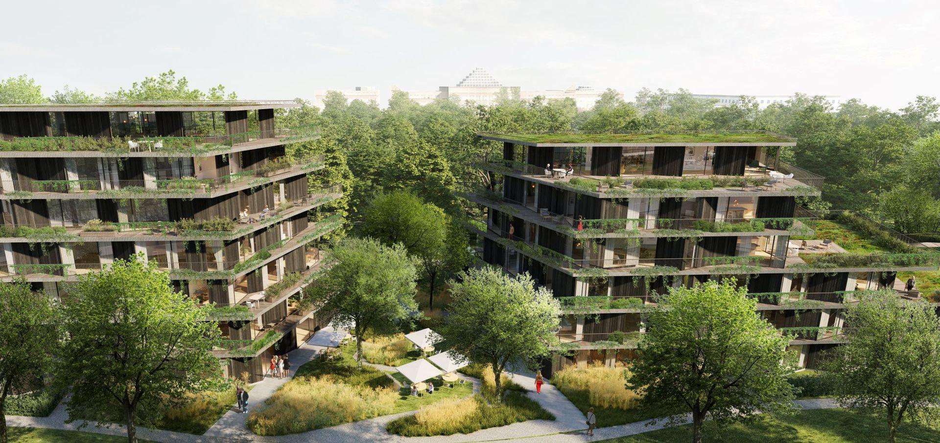 Warszawa: Przy parku na Mokotowie wyrosną apartamentowce. Vinci przedstawia plany