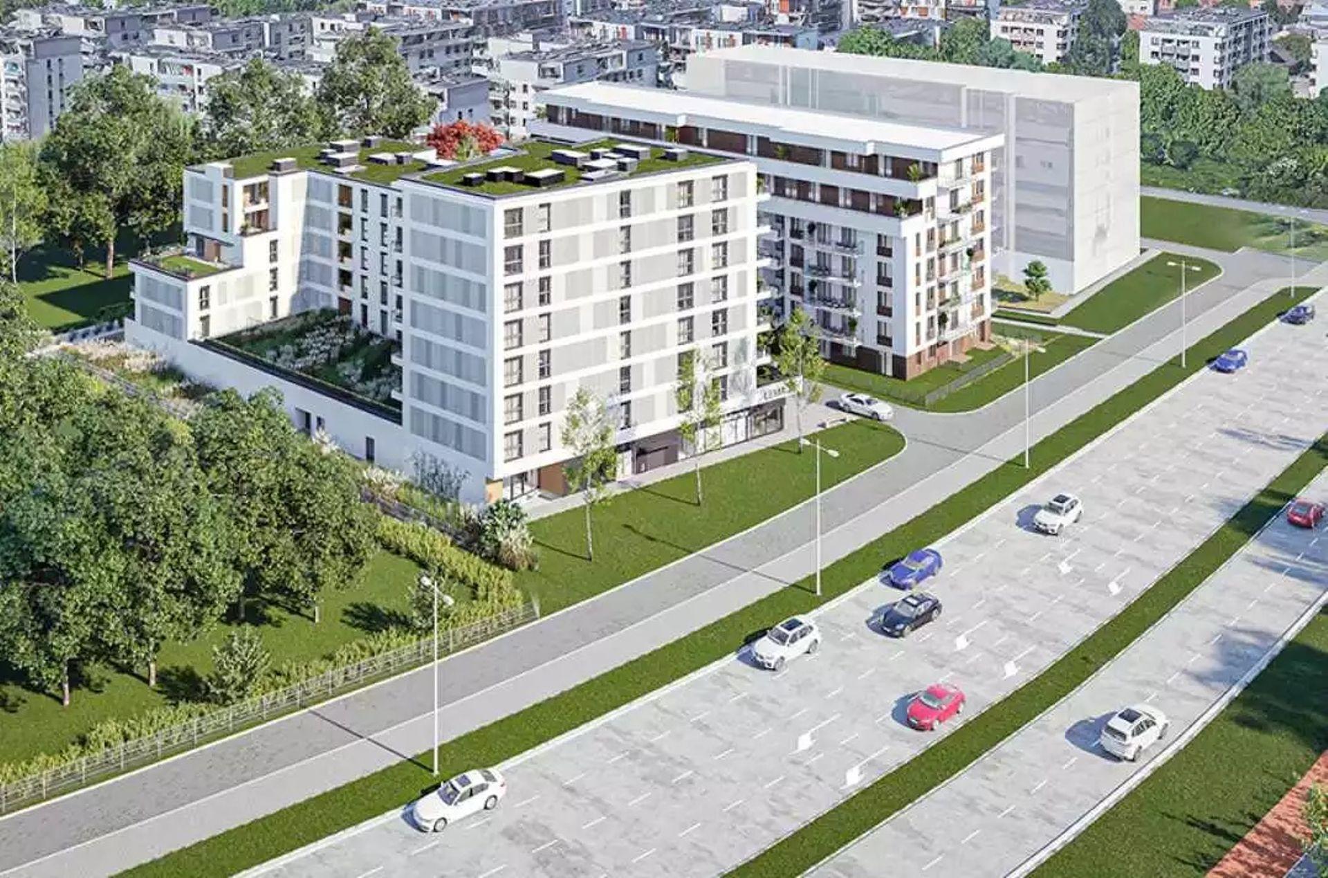Ekologiczne osiedle Lema powstaje w centrum Krakowa