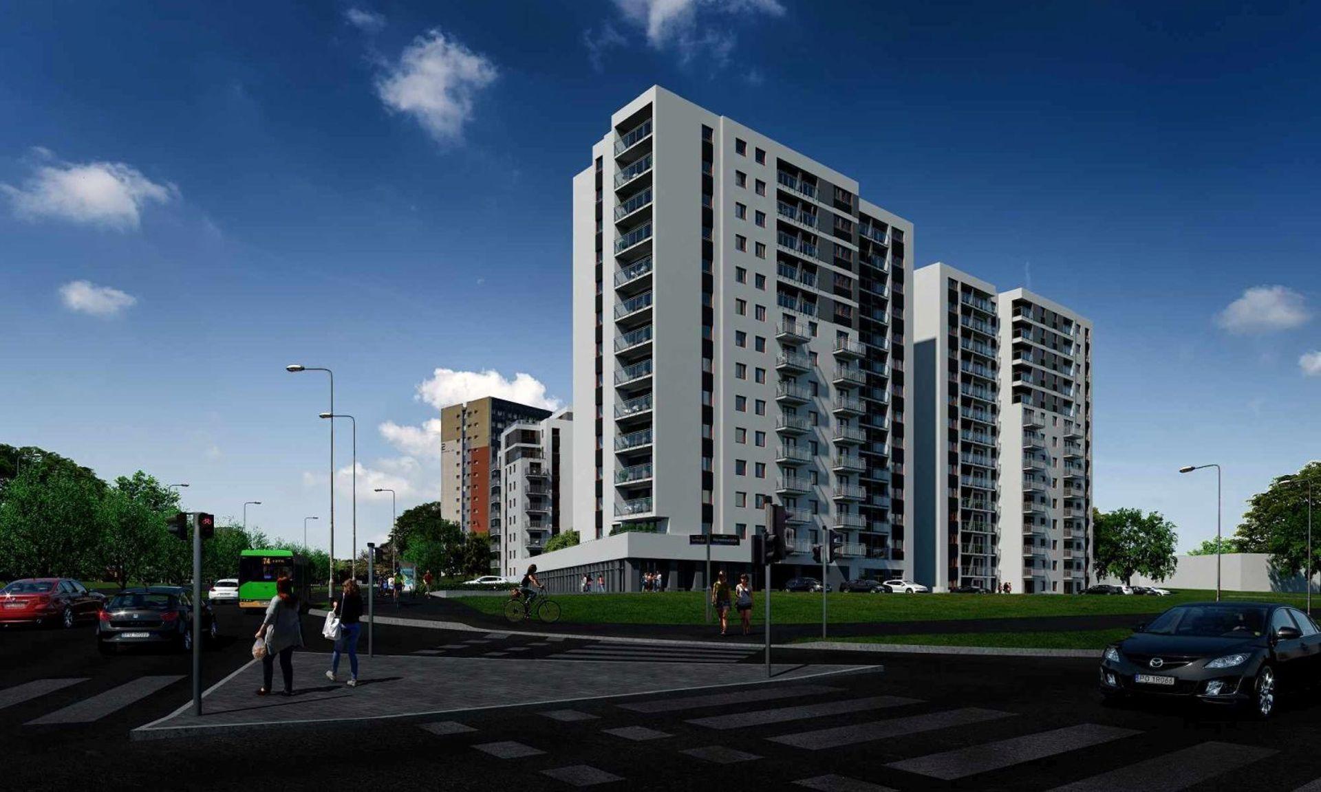[Poznań] Budowa osiedla Nowych Kosmonautów w Poznaniu wystartowała