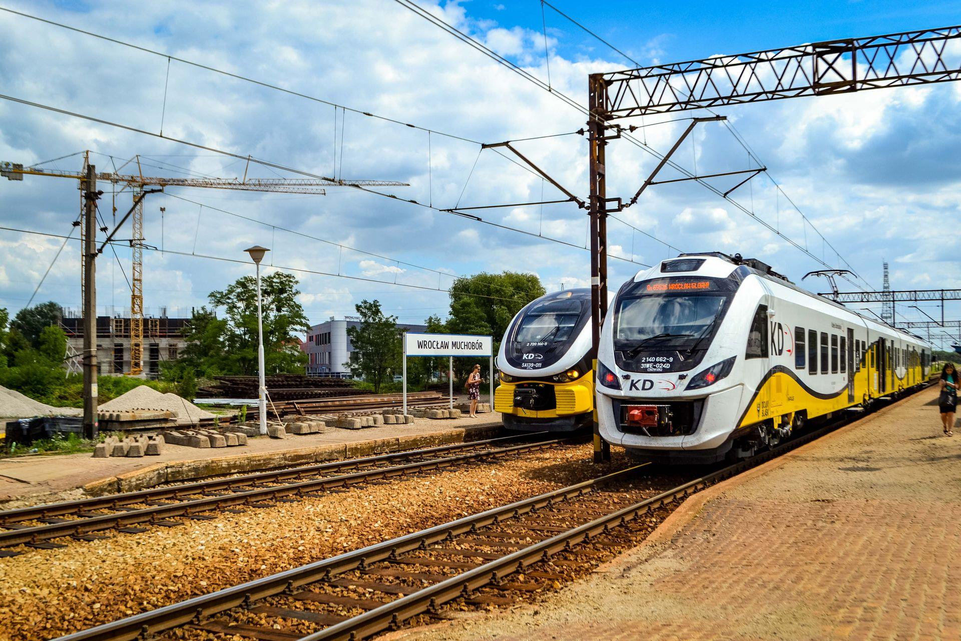 Wrocław: Jest dofinansowanie remontu stacji Wrocław Muchobór. PKP jednak wyłonią wykonawcę