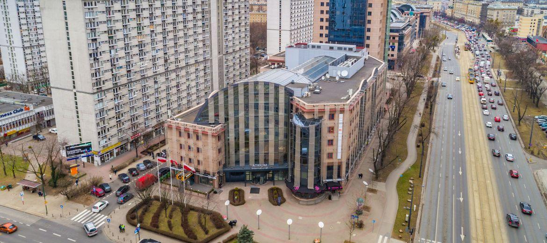 Warszawa: Biurowiec Atrium na