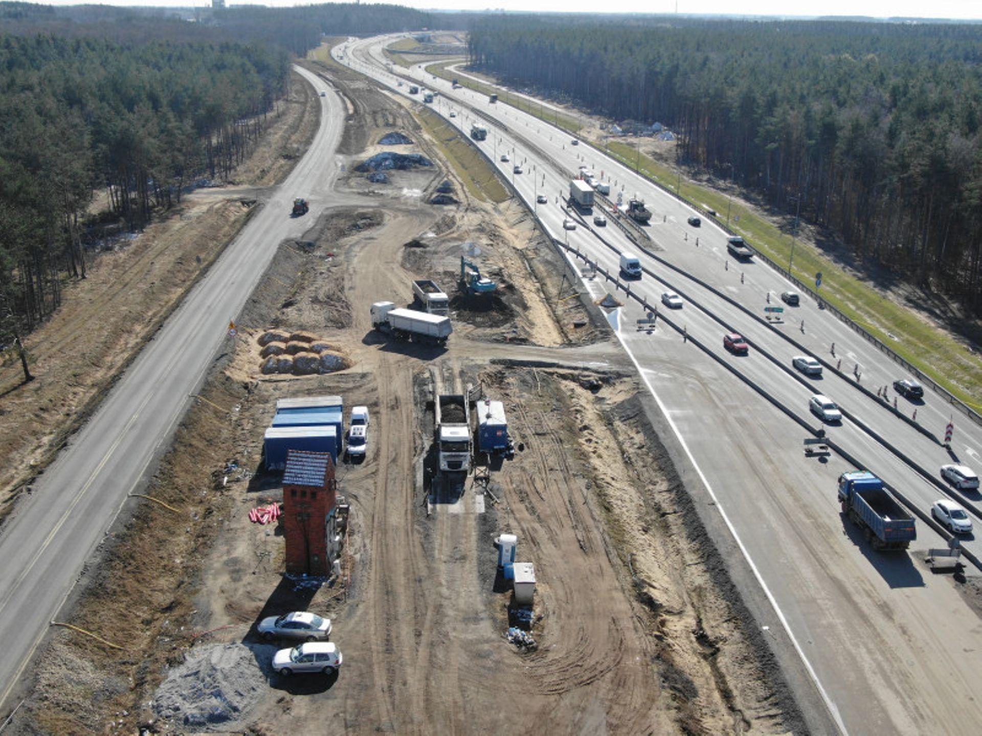 Pomiędzy Lubinem a Polkowicami powstaje brakujący odcinek trasy S3