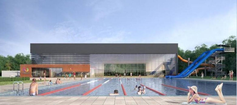 Kompleks basenów przy ulicy Wejherowskiej (wizualizacja: materiały inwestora)