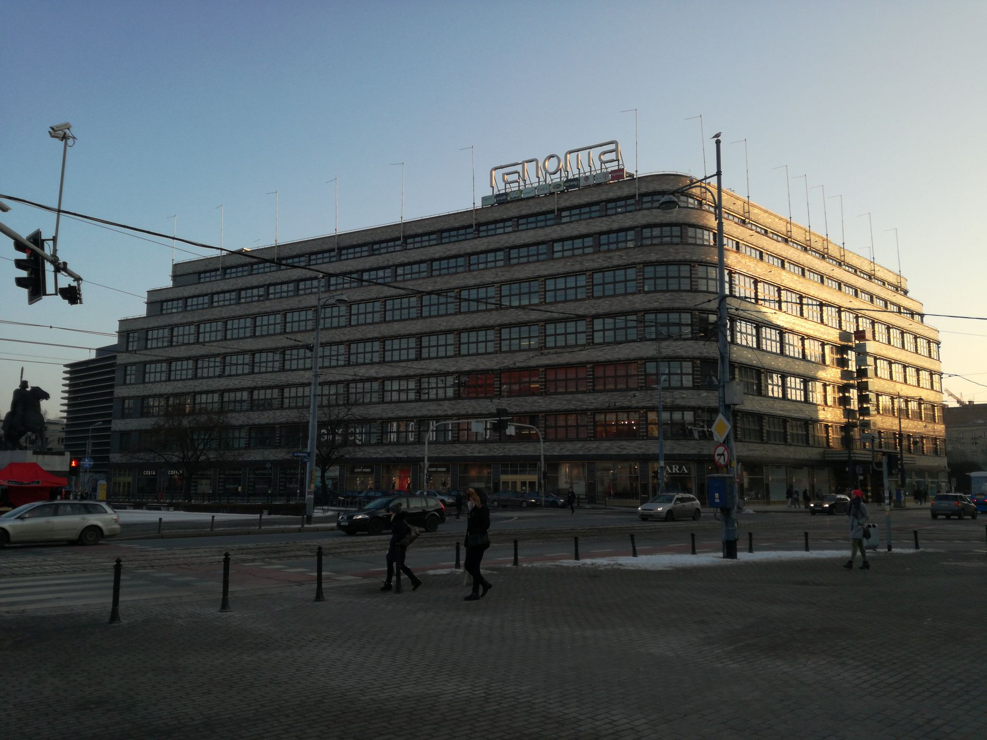 Dom Handlowy Renoma we Wrocławiu przechodzi modernizację. Będzie więcej biur a mniej sklepów