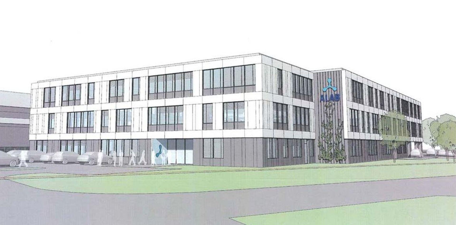 W Warszawie trwa budowa laboratorium diagnostyki medycznej ALAB [WIZUALIZACJE + ZDJĘCIA]