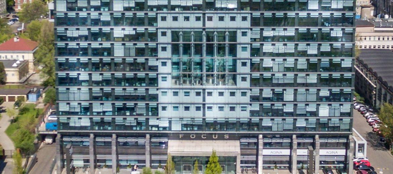 Budynek Focus z certyfikatem
