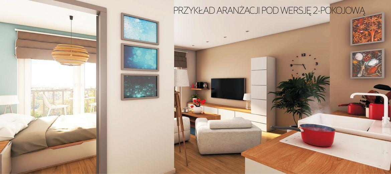 Inwestycyjne mieszkania 2-pokojowe na