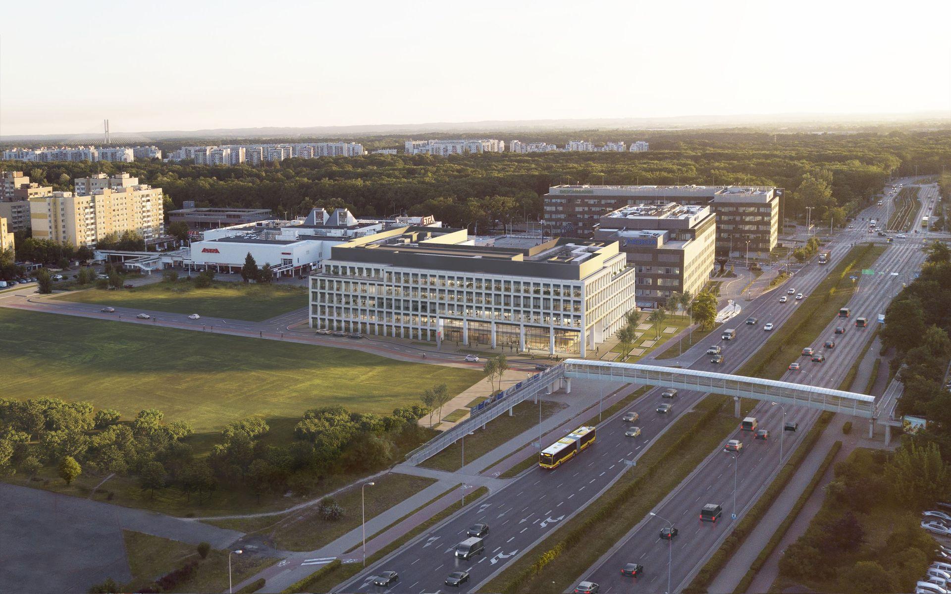 [Wrocław] Echo Investment pozyskało 20 mln euro na budowę biurowca West 4 Business Hub we Wrocławiu