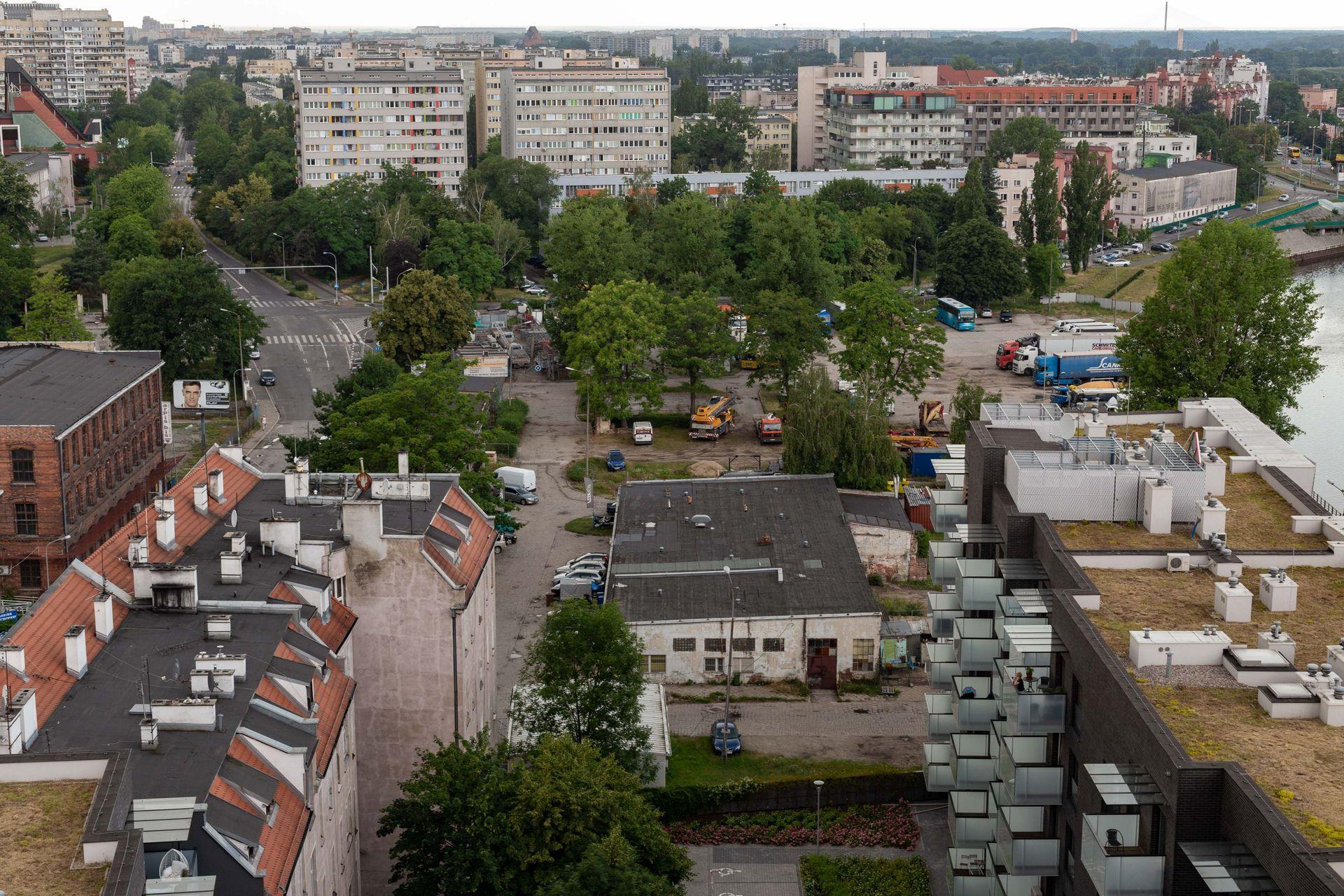 Wrocław: Miał tam stanąć 170-metrowy wieżowiec. Teren na Szczepinie kupiła Cavatina