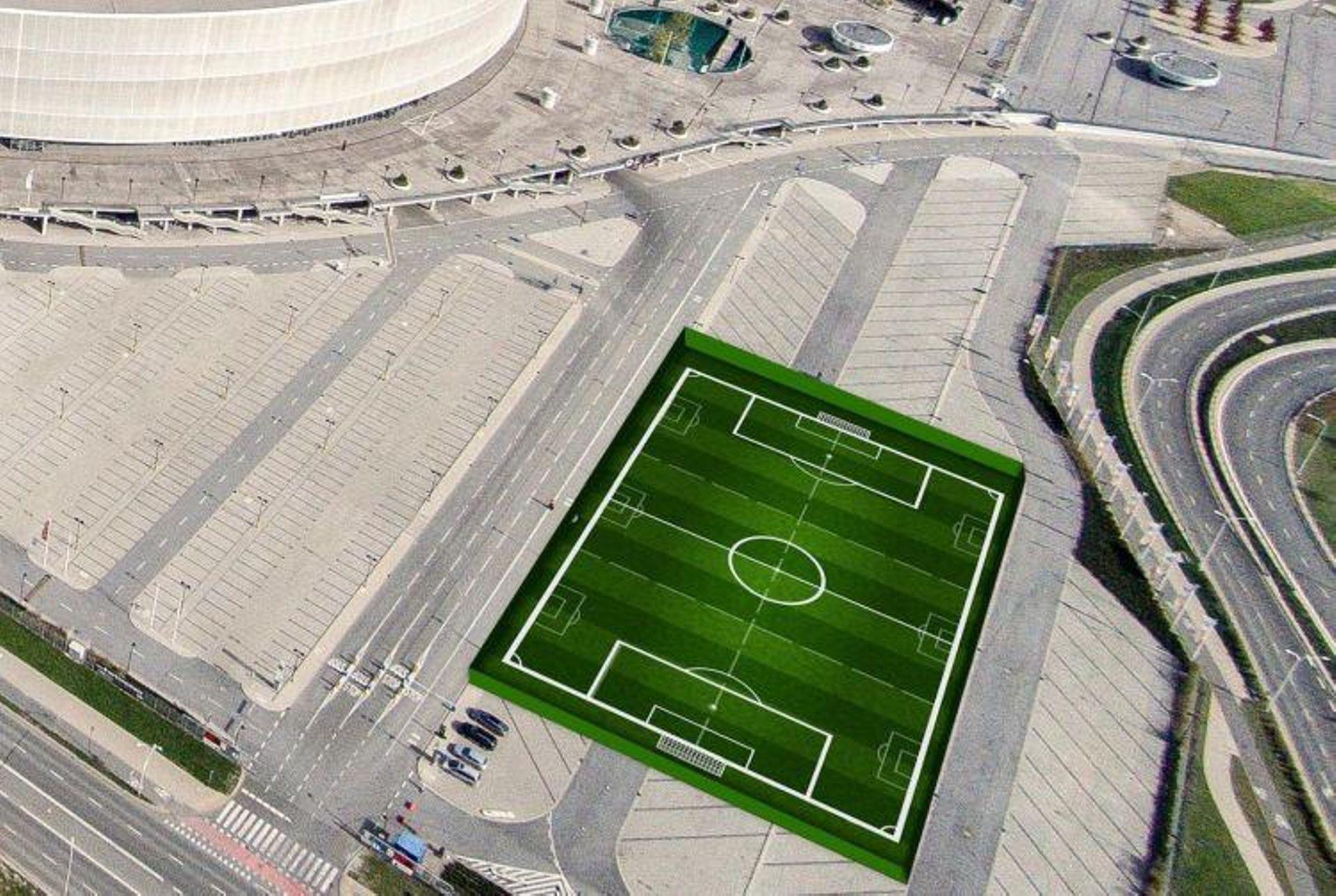 Przy Stadionie Miejskim we Wrocławiu wybudowane zostaną trzy boiska do piłki nożnej