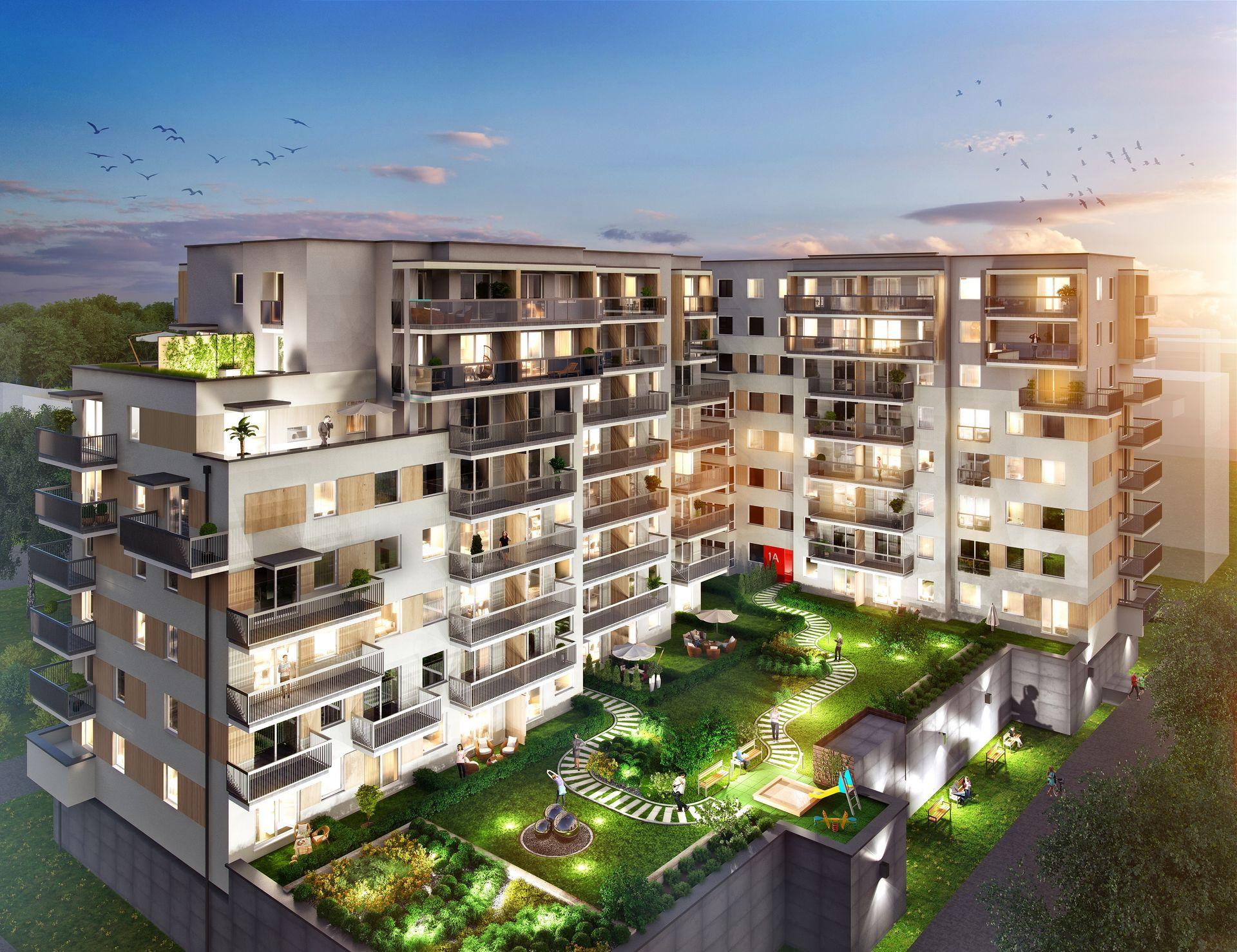 Warszawa: Comfort City – Barc buduje wieloetapowe osiedle z centrum handlowym na Białołęce