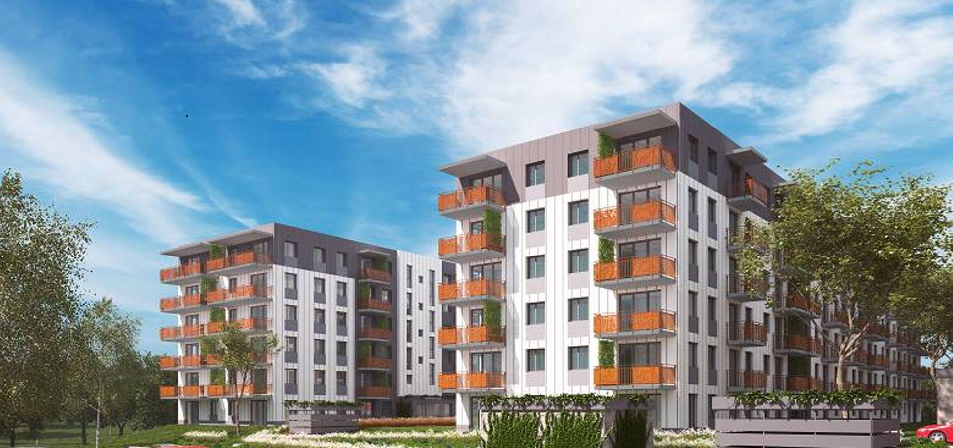 Kraków: Botanika – Stylhut zbuduje blisko 200 mieszkań w ostatnim etapie osiedla w Czyżynach