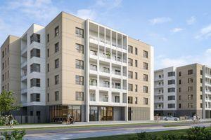 Poznań: Jeleniogórska 4 – ponad sto mieszkań od Jakonu powstaje na Grunwaldzie [WIZUALIZACJE]