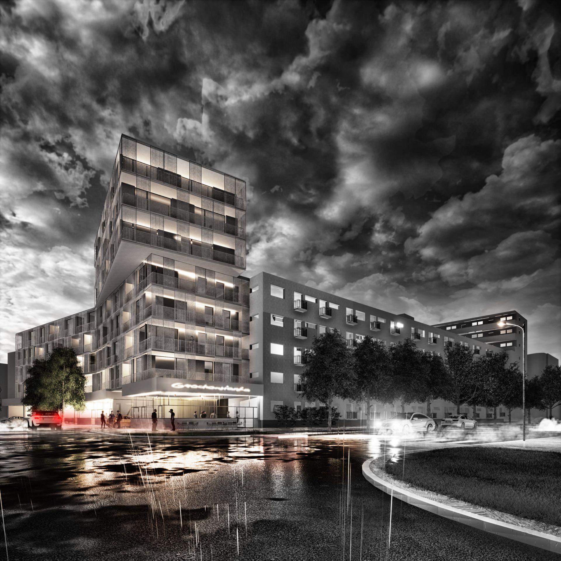 Wrocław: Tak mógł wyglądać rozbudowany pawilon na Gajowicach