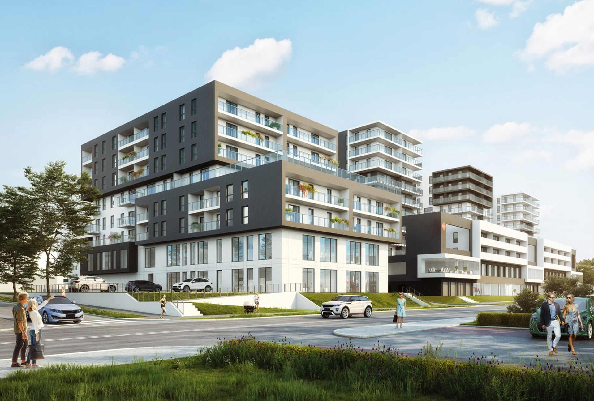 Trzeci etap Apartamentów Drewnowska 43 w Łodzi gotowy