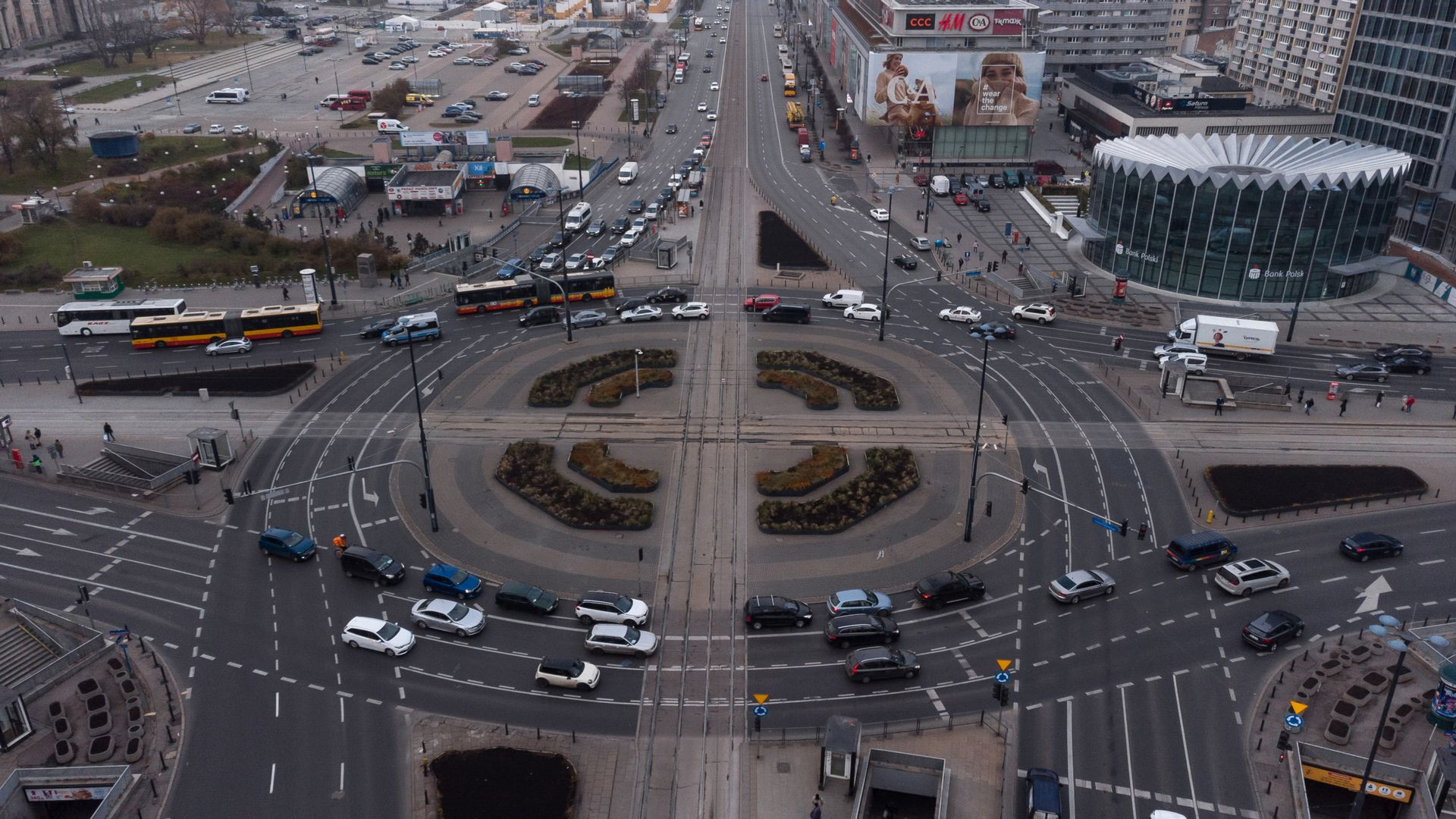 Ogłoszono przetarg na przebudowę Ronda Dmowskiego w Warszawie