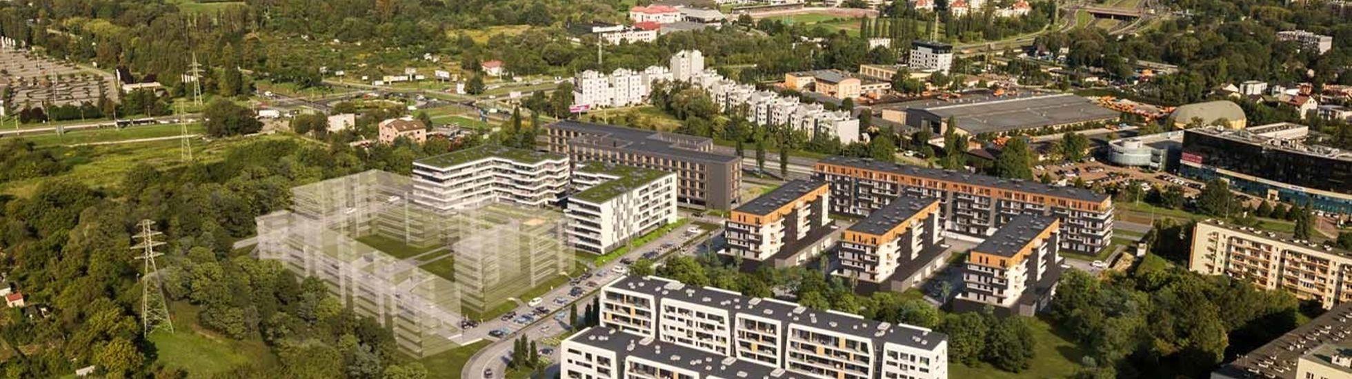 Kraków: Atal rozbudowuje Aleję Pokoju. To już prawie 400 mieszkań