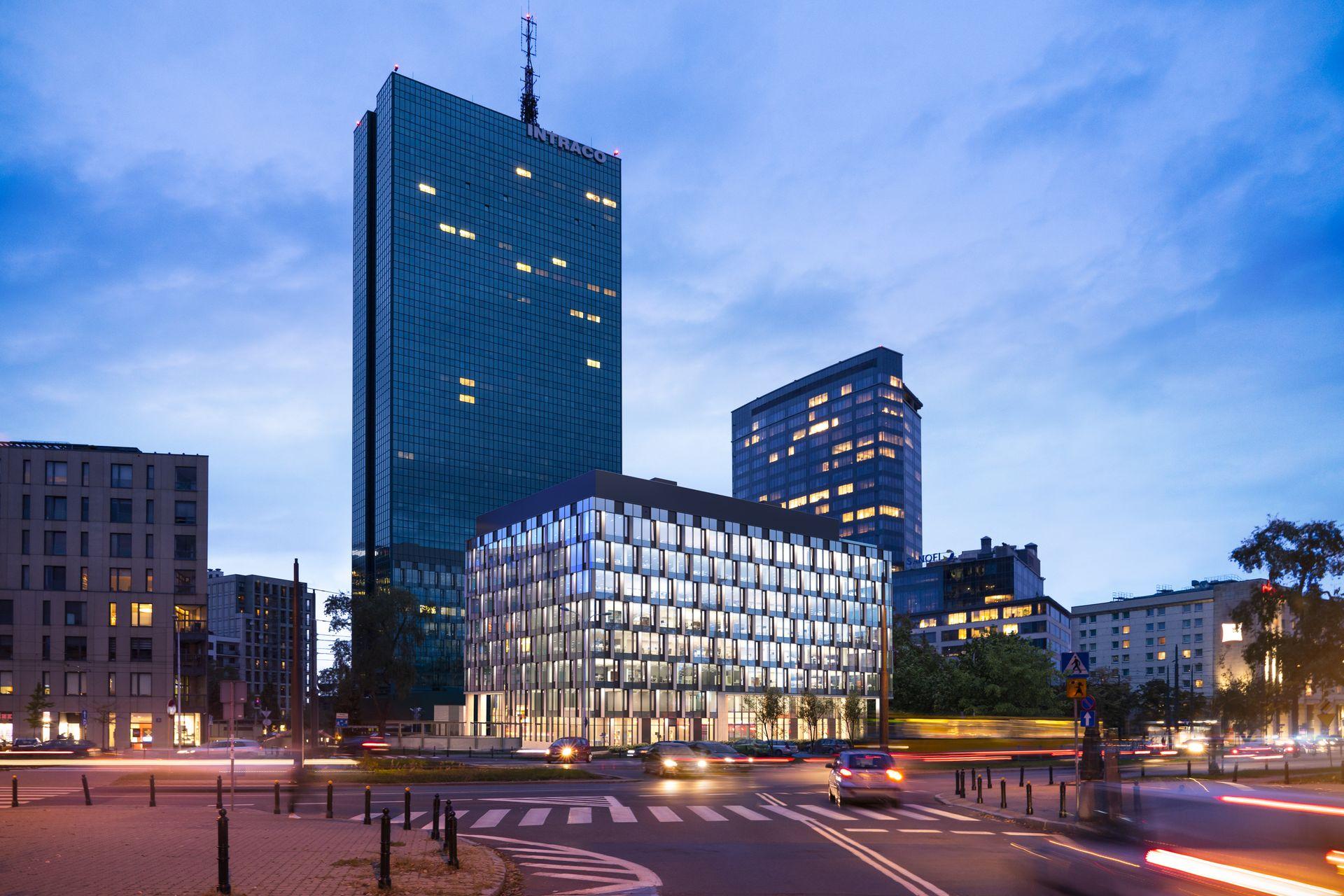 Przy ulicy Stawki w Warszawie powstaje nowy biurowiec Intraco Prime