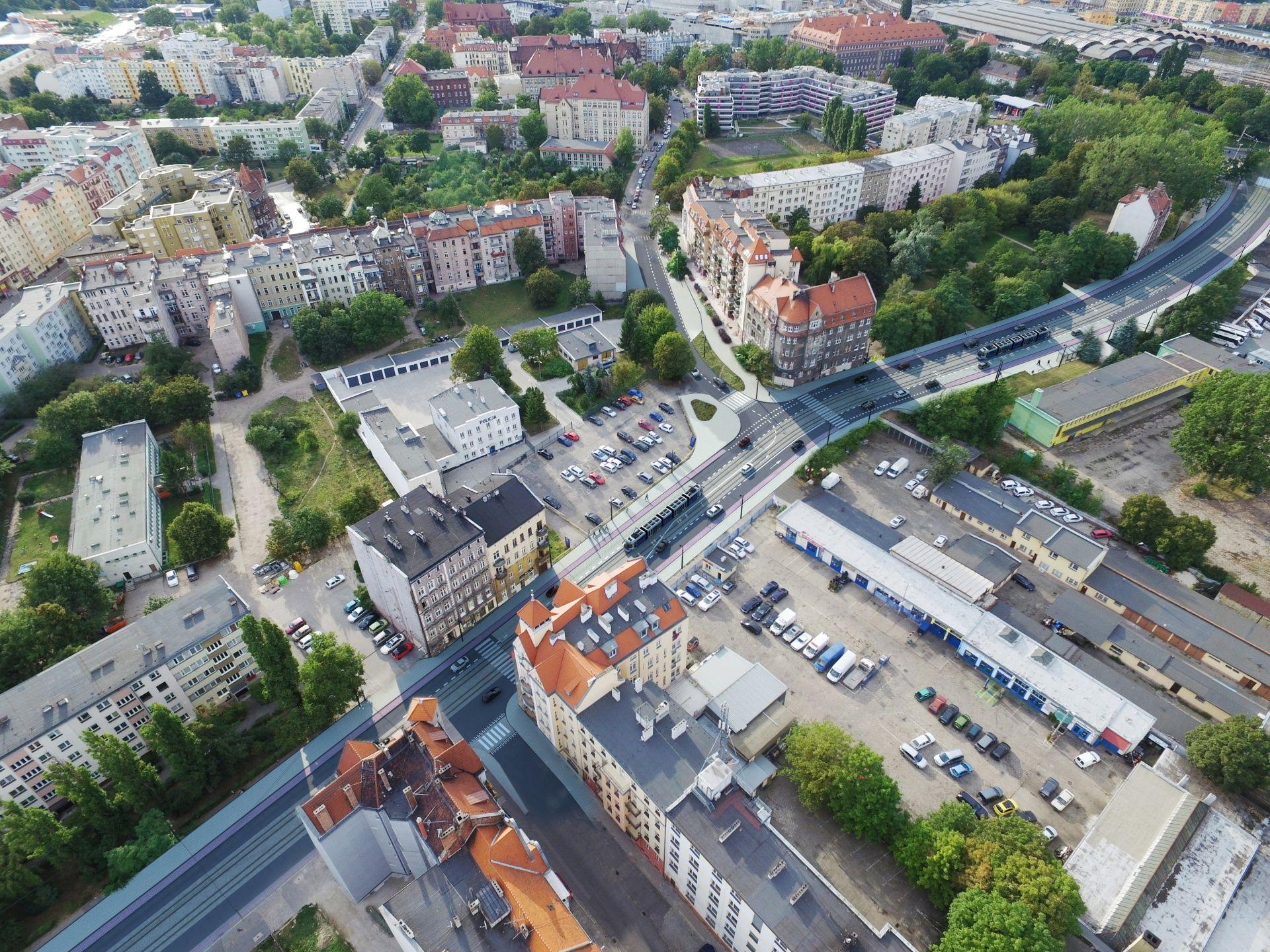 [Wrocław] 38 mln złotych na trasę tramwajową wzdłuż Hubskiej. Ogromne zainteresowanie budową