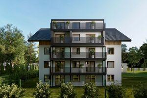 Kraków: Mochnackiego 40 – MoonOffice stawia na Podgórzu Duchackim kameralny budynek mieszkalny [WIZUALIZACJE]