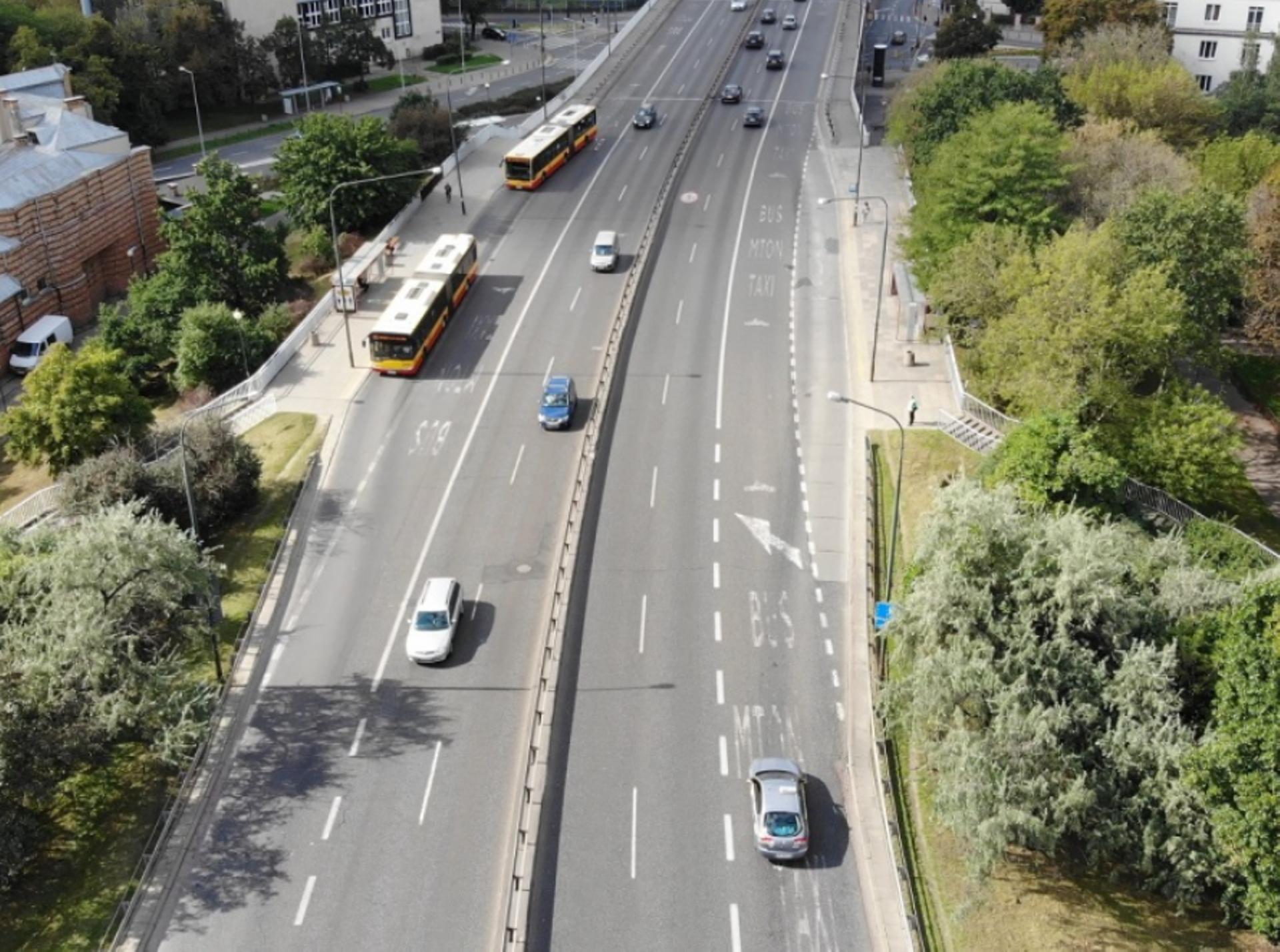 Warszawa: Wiadukty przy Trasie Łazienkowskiej pójdą do remontu