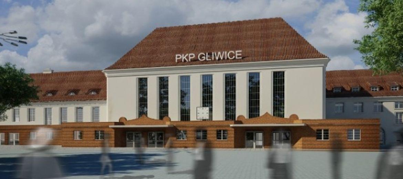 Dworzec w Gliwicach –
