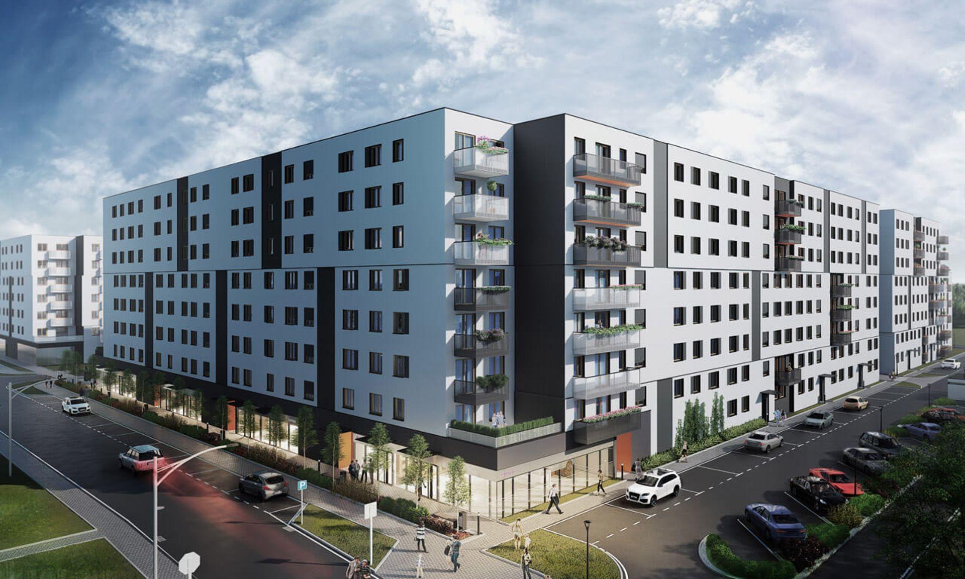 Kraków: Zamiast 800, blisko 2000 mieszkań. Develia rozbudowuje osiedle Centralna Park w Czyżynach