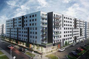 Kraków: Zamiast 800, blisko 2000 mieszkań. Develia rozbudowuje osiedle Centralna Park w Czyżynach [WIZUALIZACJE]