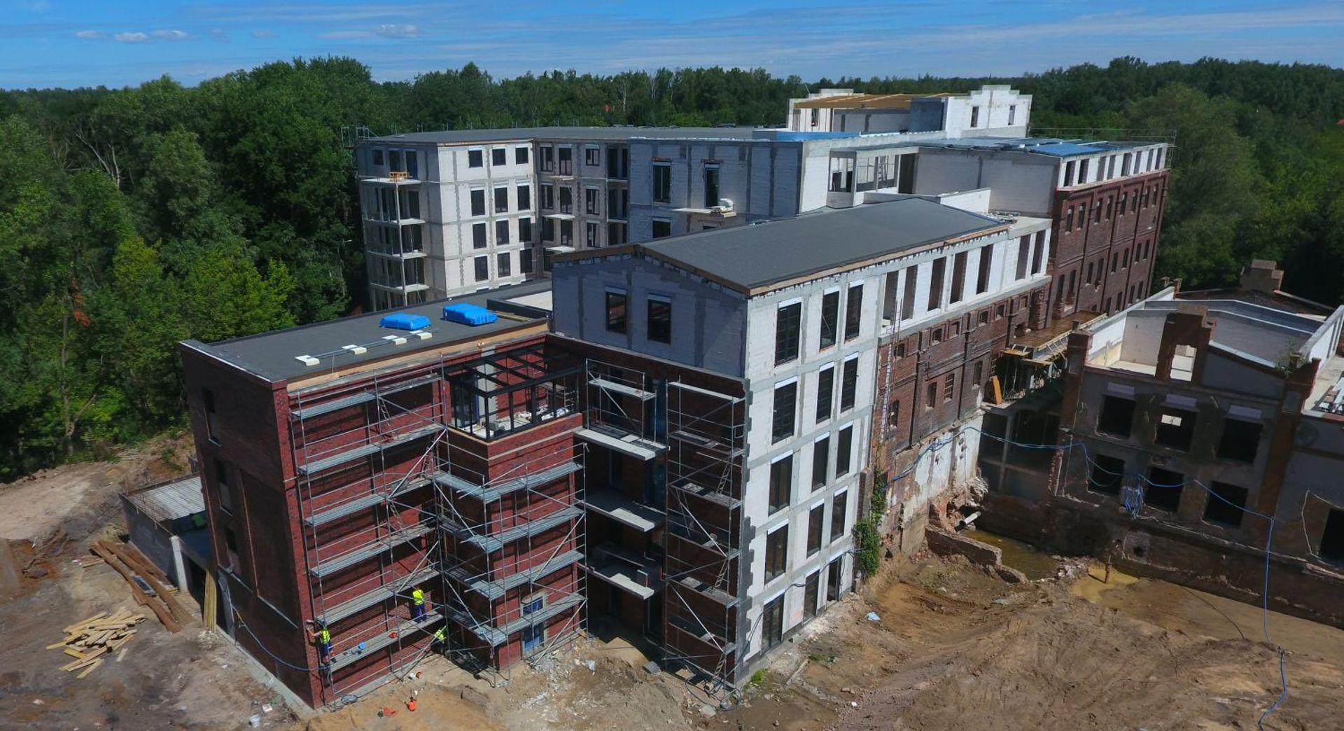 [Poznań] Kolejne prace na osiedlach Młyn nad Cybiną i Nadolnik Compact Apartments w Poznaniu