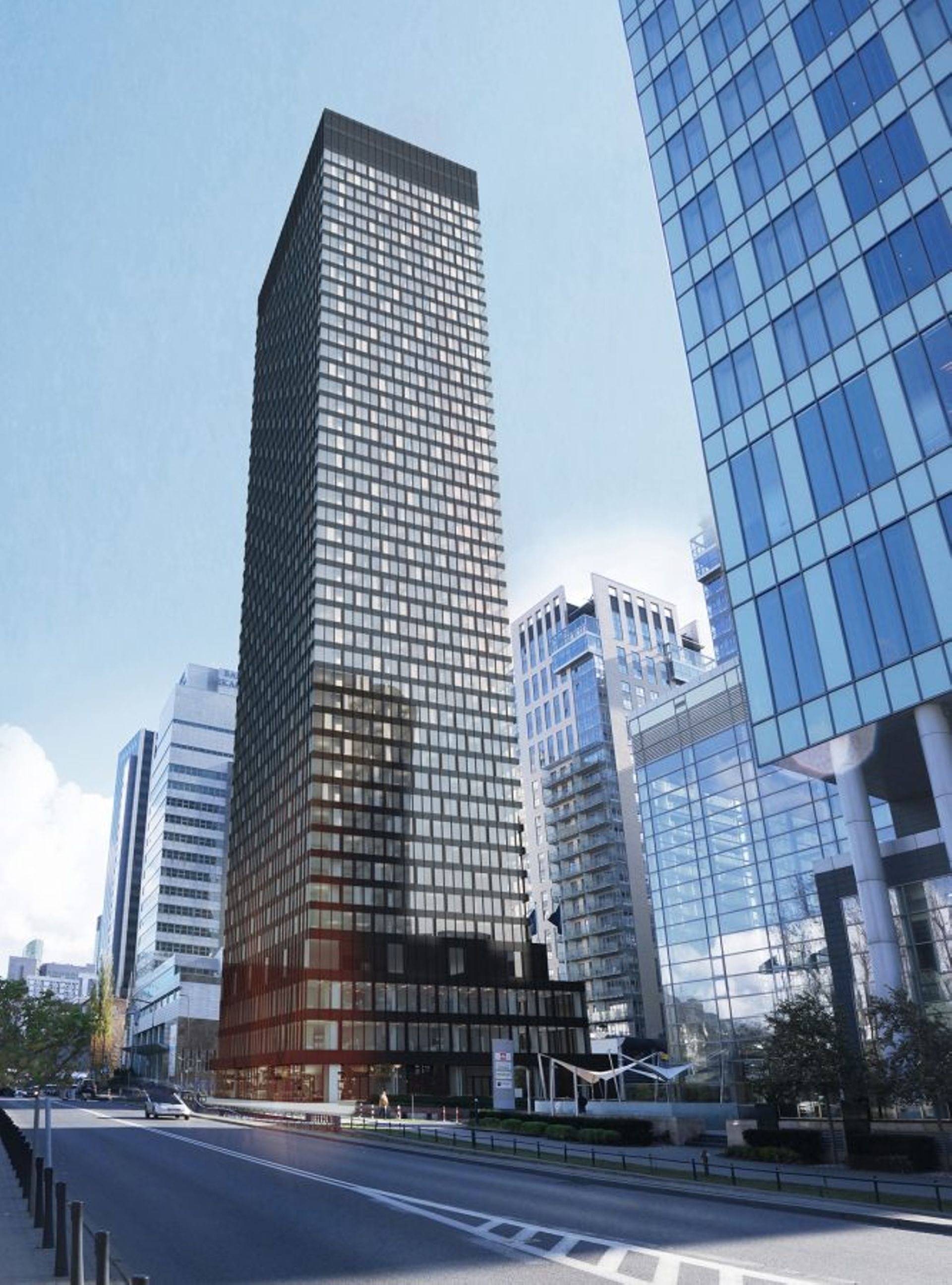 Warszawa: Blisko 150 milionów netto za grunt pod 170-metrową wieżę na Woli. Zbuduje ją Golub GetHouse