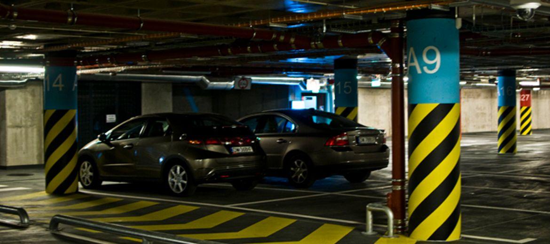 Parking pod Dworcem Głównym