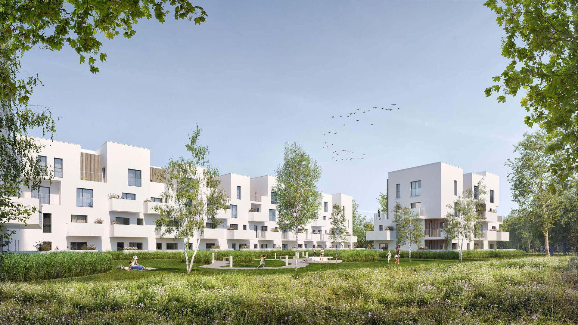 Wrocław: Niemiecki deweloper podaje szczegóły osiedla na Wielkiej Wyspie. Zbuduje prawie 300 mieszkań