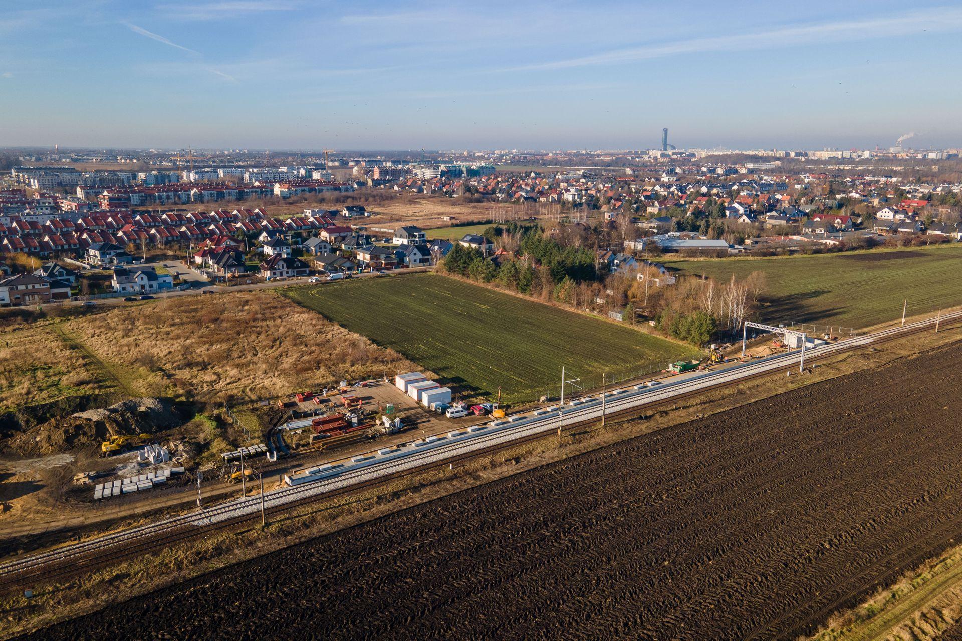 Będzie szybszy dojazd koleją z Jagodna do centrum Wrocławia [FILM + ZDJĘCIA]
