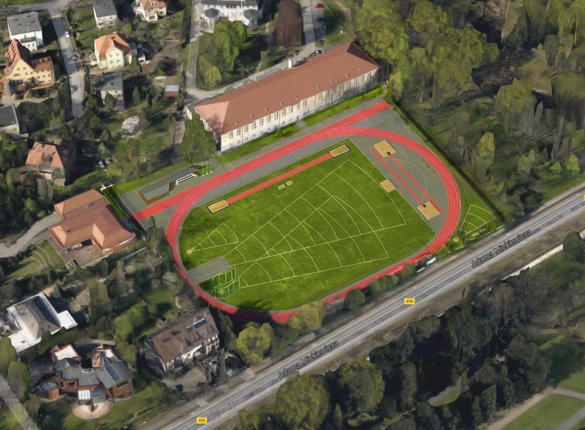 AWF Wrocław za ponad 8 milionów złotych zmodernizuje stadion lekkoatletyczny przy ulicy Witelona