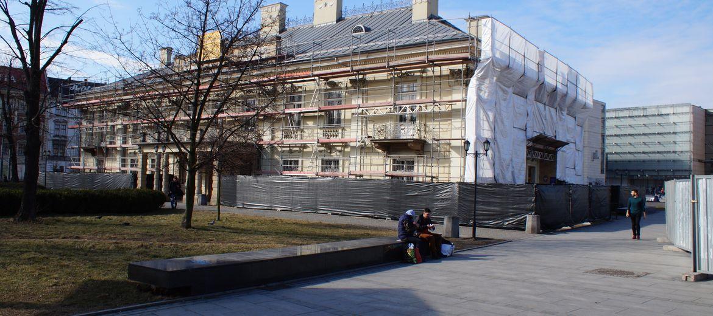 Kraków: Ruszył remont Pałacu