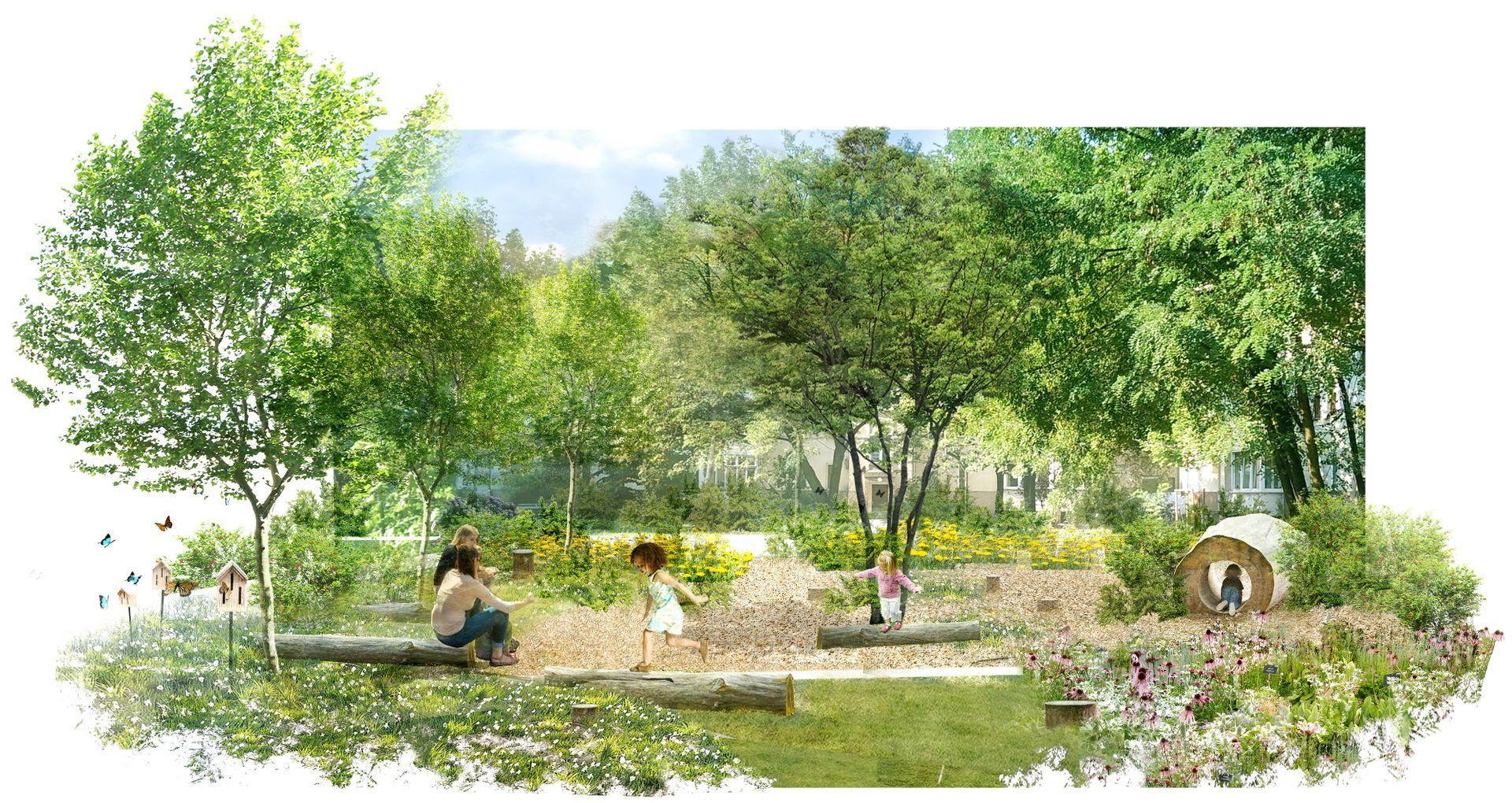 Wrocław: Grow Green – nowe parki kieszonkowe na Ołbinie tańsze, niż się spodziewano