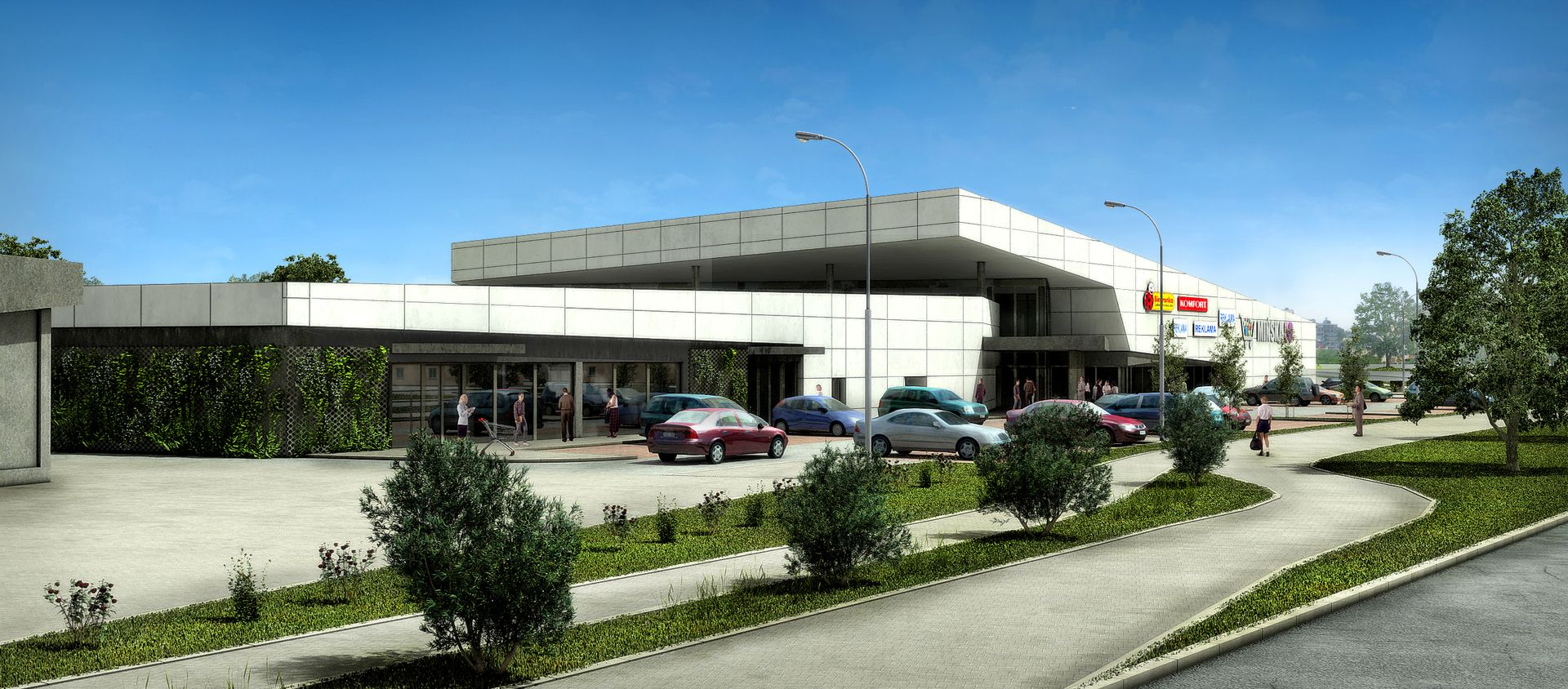 Wrocław: Jeszcze w tym roku otwarcie nowego centrum handlowego na Muchoborze Wielkim