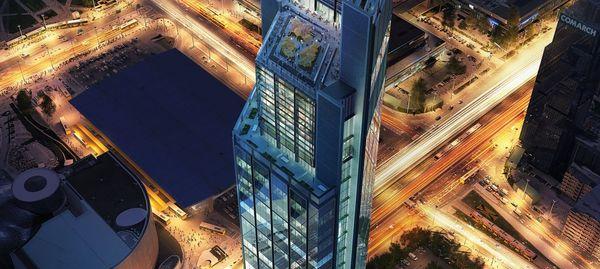 W Warszawie powstaje Varso Tower, najwyższy budynek w Unii Europejskiej [FILM]